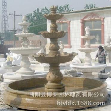 供应石雕工艺品喷泉流水喷水池(图)石材喷泉 流水摆件喷泉