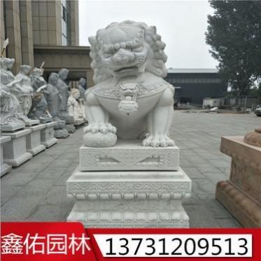 石雕狮子 生产厂家支持定制
