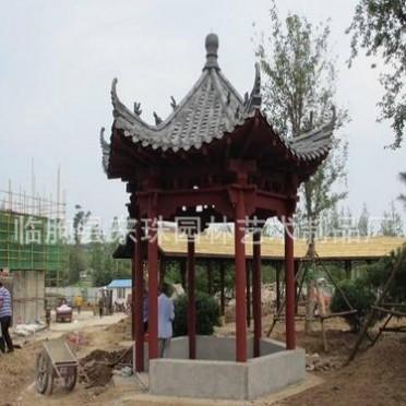 山东园林水泥景观工程 水泥凉亭造型 园林景观设施 厂家直