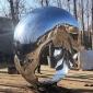 不锈钢厂家雕塑抽象圆环雕塑园林景观创意金属锻造雕塑