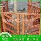 康为环卫 木质凉亭护栏 中式木质廊架 户外景观凉亭廊架